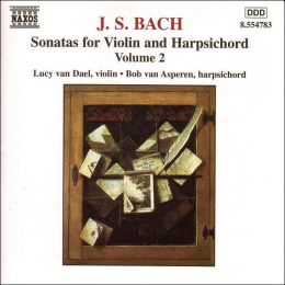Bach: Sonatas for Violin & Harpsichord, Vol. 2