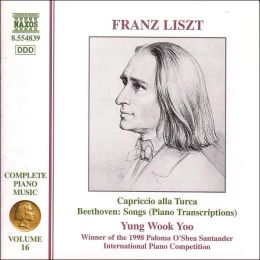 Liszt: Piano Transcriptions from Beethoven
