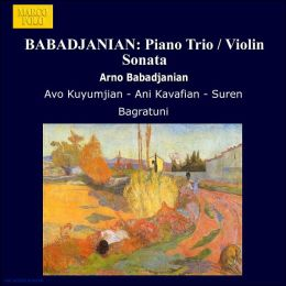 Sonata In B Flat Minor For Violin & Piano (Babadjanian / Kuyumjian)