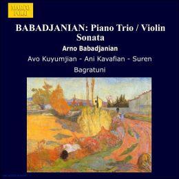 Sonata In B Flat Minor For Violin & Piano (Babadjanian / Kuyumjian)