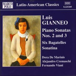 Luis Gianneo: Piano Works, Vol. 1