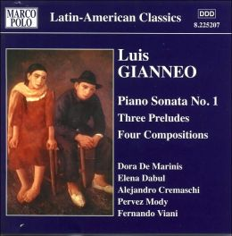 Luis Gianneo: Piano Works, Vol. 3