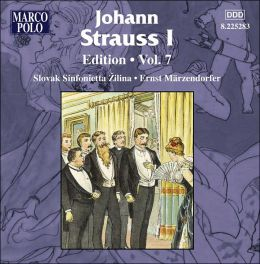 Johann Strauss I Edition, Vol. 7