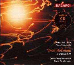 Vagn Holmboe: Sinfonias I-IV (includes bonus CD - Vagn Holmboe: Chairos)