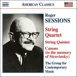 Roger Sessions: String Quartet