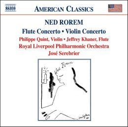 Rorem: Flute Concerto, Violin Concerto