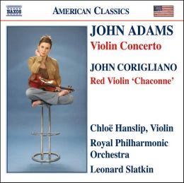 Adams: Violin Concerto / Corigliano: Red Violin