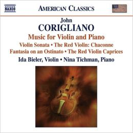 Corigliano: Music for Violin & Piano