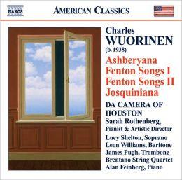 Charles Wuorinen: Ashberyana; Fenton Songs