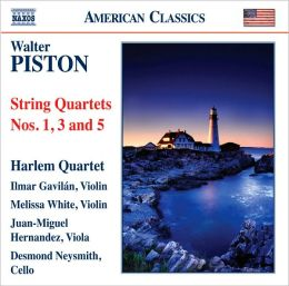 Walter Piston: String Quartets Nos. 1, 3 & 5
