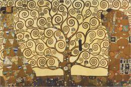 Gustav Klimt's Tree of Life - Poster