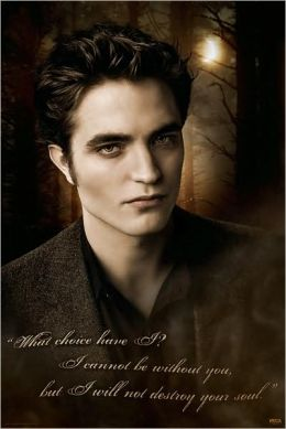 New Moon - Edward Quote - Poster