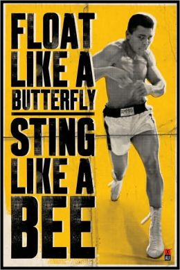 Muhammad Ali - Float Like A Butterfly - Poster