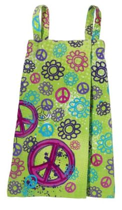 Graffiti Peace Spa Wrap Medium
