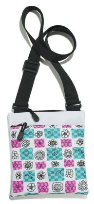 Scribble Check Mini Cross-body Bag