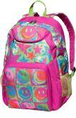 Product Image. Title: Fuchsia Happy Dayz Backpack