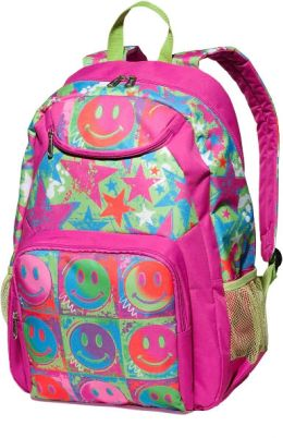 Fuchsia Happy Dayz Backpack
