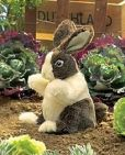 Product Image. Title: Dutch Baby Rabbit Puppet