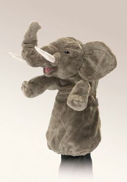 Elephant Stage Puppet 12 inches