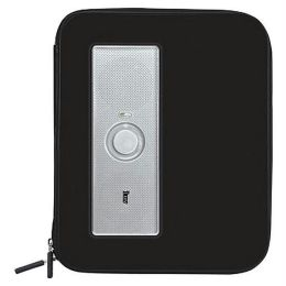 iLuv ISP210-BLK Portable Ampliflified Stereo Case for iPad - Black