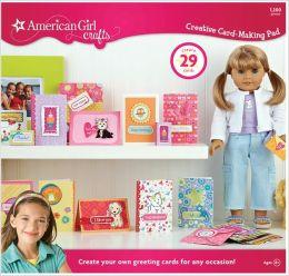 American Girl Crafts Creative Card-Making Pad