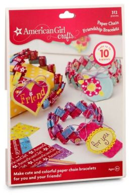 American Girl Paper Chain Friendship Bracelet Kit