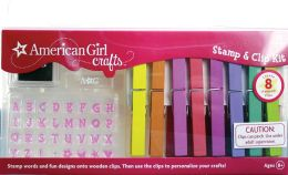 American Girl Crafts American Girl Crafts Stamp & Clip Kit