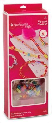 American Girl Clip Knot Bracelet Set