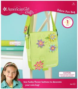 American Girl Crafts Fabric Fun Bag - Cool