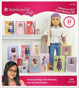 American Girl Crafts - Historical Doll Card-Making Kit