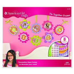 American Girl Crafts Tie Together Frames Kit 2