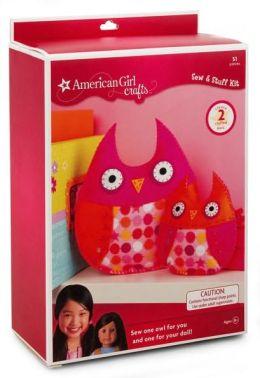 American Girl Owls Sew Stuff Kit