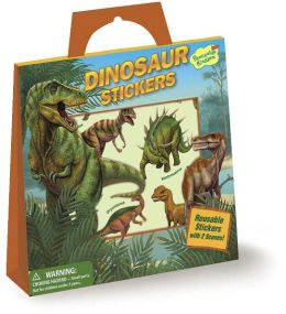 Dinosaurs Reusable Sticker Totes