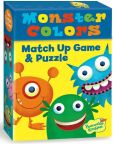 Product Image. Title: Monster Colors Match Up Game + Puzzle
