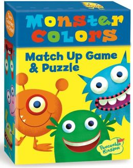 Monster Colors Match Up Game + Puzzle