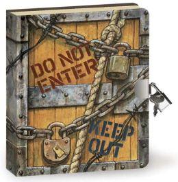 Top Secret Lock & Key Diary (5.5x6.25)