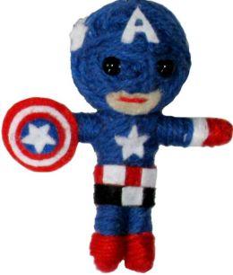 Marvel Comics Retro Captain America String Doll