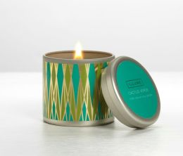 Cactus Verde Essential Candle Travel Tin