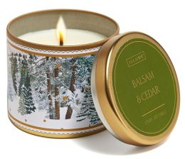 Balsam & Cedar Large Candle Tin 10.06 oz
