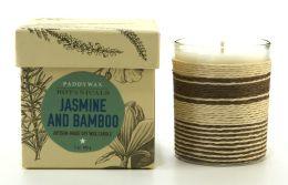Jasmine Bamboo Botanical Glass Candle