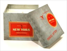 New York Wanderlust Square Tin Candle