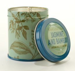Jasmine Bamboo Botanical Tin Candle