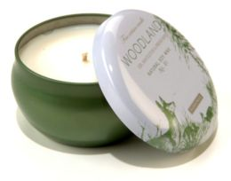 Forest Winter Woodland Candle Tin 6.5oz
