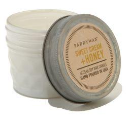 Sweet Cream & Honey Relish Glass Candle 3 oz.