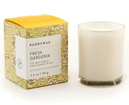 Fresh Gardenia Small Glass Candle, 3.5oz