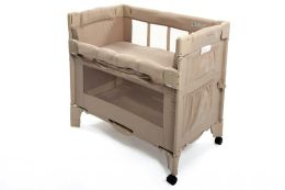 Arms Reach Concepts Mini Co-Sleeper Infant Bedside Bassinet, Toffee