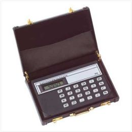 SWM 39802 Mini Briefcase Calculator
