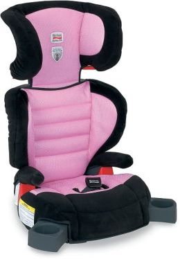 Britax Parkway SG 120lb Belt Positioning Booster -  Pink