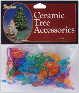 Ceramic Christmas Tree Bulb .625