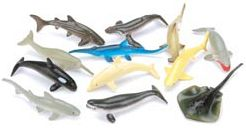 Darice 396767 Creatures Inc.-Marine Life 12-Pkg - Pack of 3
